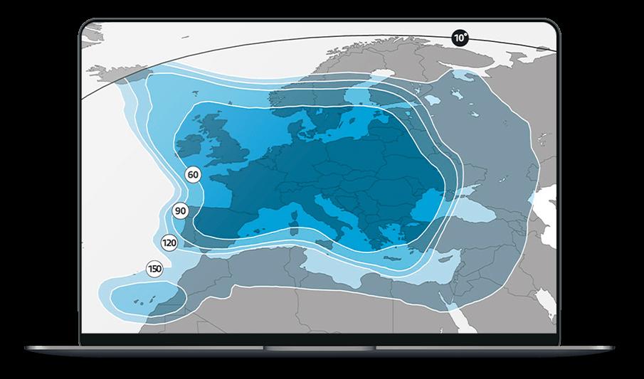Footprint op laptop Canal Digitaal